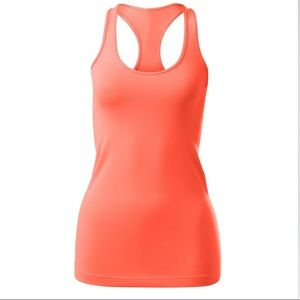 Lululemon Cool Racerback Orange Size 8